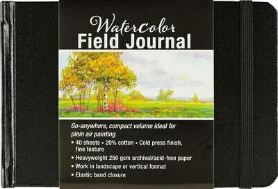 PPP Watercolor Field Journal