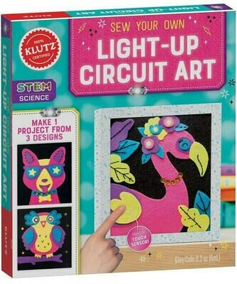 Klutz Sew Your Own Light Up Circuit Art