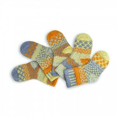 Solmate Socks 6-12mo Puddle Duck Socktinis