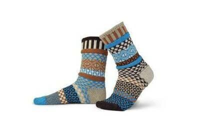 Solmate Socks Wool L Walnut