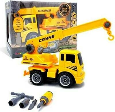 Construct-A-Truck Crane