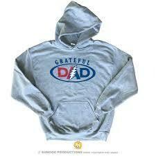 Grateful Dad Grey M Hoodie - Sundog