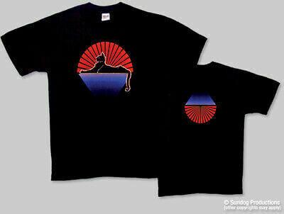 GD Black Cat L T-Shirt - Sundog