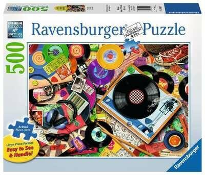 SIDEWALK SALES: 149179 Viva le Vinyl 500pc Puzzle