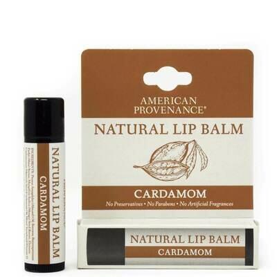 American Provenance Cardamom Natural Lip Balm