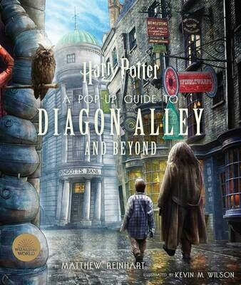 A Pop-Up Guide to Diagon Alley and Beyond - Reinhart - HC