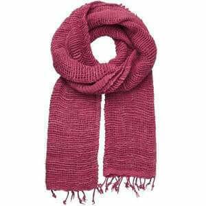 Marquet Fuschia Free Weave Scarf