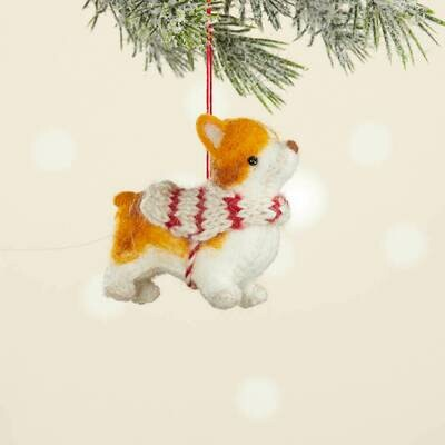 Corgi Ornament - 65795