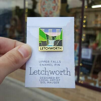 CONS: Letchworth Enamel Pins