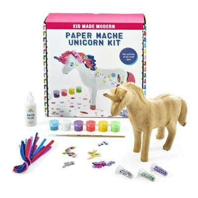 Kids Made Modern Paper Mache Unicorn Kit