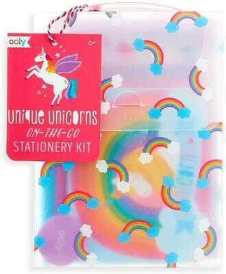 Unique Unicorns On-the-Go Stationery Kit