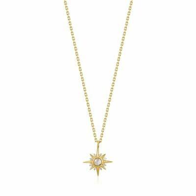AH Midnight Fever: Midnight Star Necklace - Gold