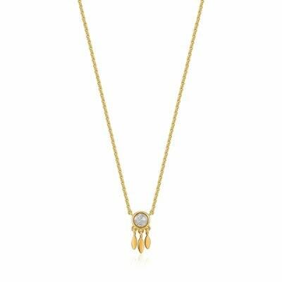 AH Midnight Fever: Midnight Fringe Necklace - Gold