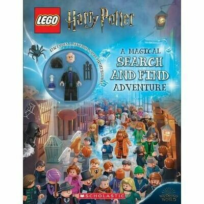 Lego Harry Potter: A Magical Search and Find Adventure - PB