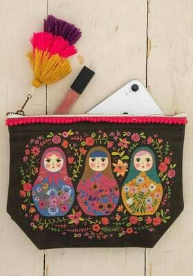 NL Russian Dolls Canvas Pouch