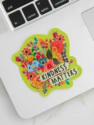 NL Kindness Matters Vinyl Sticker