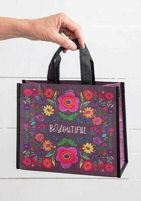 NL 148 BeYoutiful Happy Bag Med Recycled Gift Bag
