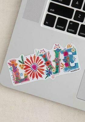 NL Love Sticker