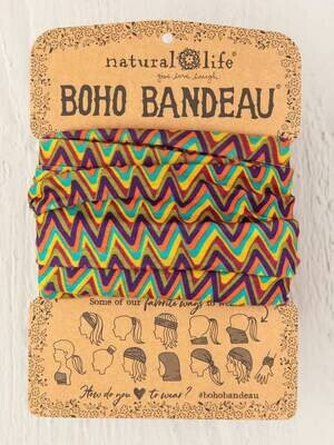 4 Multi Colored ZigZag Boho Bandeau