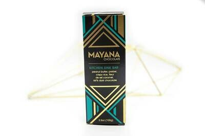 Kitchen Sink 3.5oz Bar - Mayana Chocolate