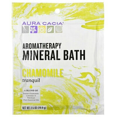 Aura Cacia Mineral Bath Lemon