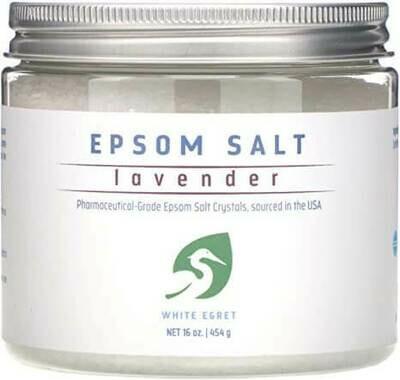 Epsom Salt Lavender - White Egret