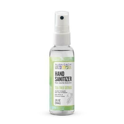 Aura Cacia Hand Sanitizer Tea Tree - 2oz