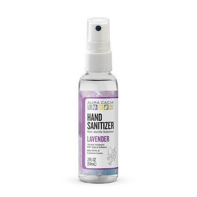 Aura Cacia Hand Sanitizer Lavender - 2oz