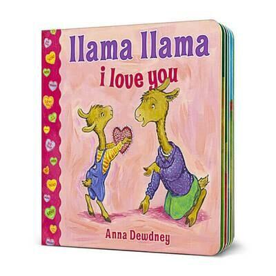 Llama Llama I Love You - Dewdney - Board Book