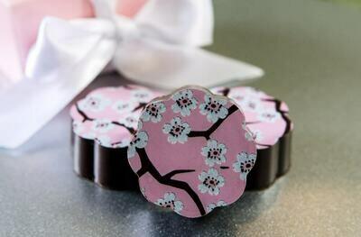 PROMO: Chouquette Cherry Blossom Box of 5 Chocolates