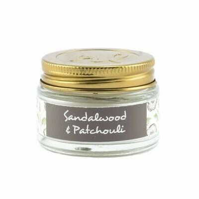 Sandalwood & Patchouli 1oz Mini Jar Candle