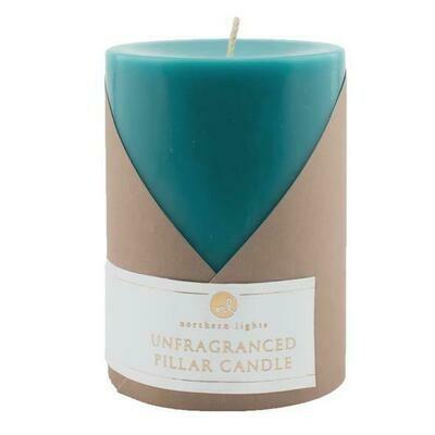 Calypso Unfragranced 3x4 Pillar Candle