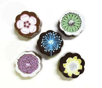 PROMO: Chouquette Flowers Box of 5 Chocolates