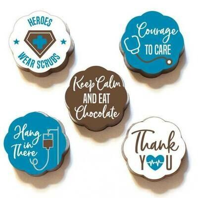 PROMO: Chouquette Health Care Heros Box of 5 Chocolates