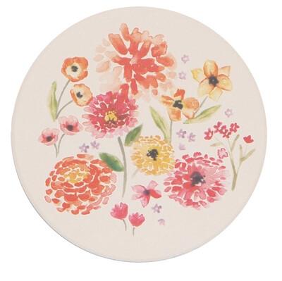 Cottage Floral Soak Up Coasters