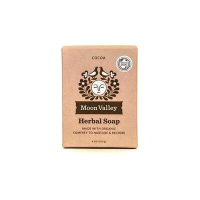 Cocoa Herbal Soap - Moon Valley Organics