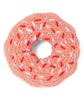 SRB Knit Strawberry Donut Rattle - Kyrgyzstan