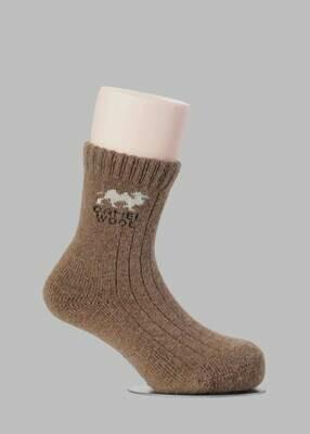 SRB Kids Mongolian Camel Wool Socks 2-3 years (3)