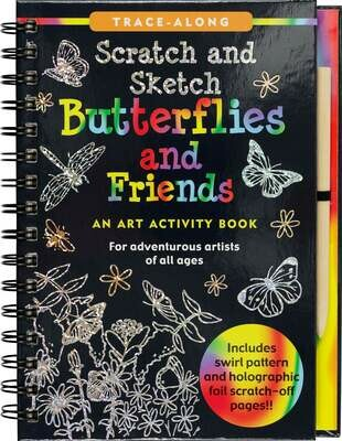 PPP Scratch and Sketch Butterflies and Friends