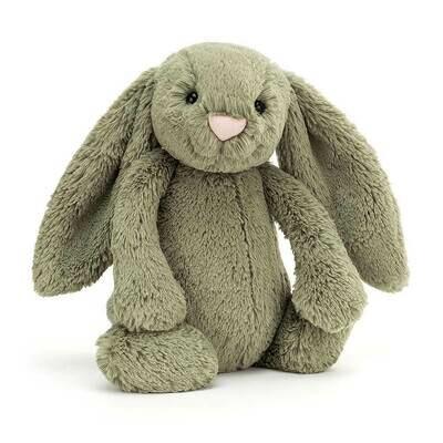 Jellycat Bashful Fern Bunny Med