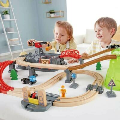 Railway Bucket-Builder Set - Hape