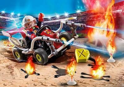 PM 70554 Stunt Show Fire Squad