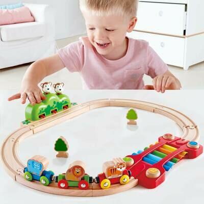Music and Monkeys Railways - Hape