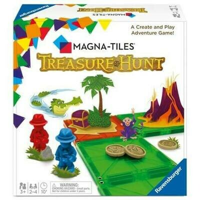 Magna-Tile Treasure Hunt Game