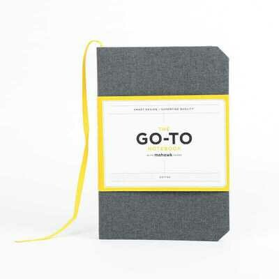 The Olive Green Go-To Notebook with Dotted Mohawk Paper