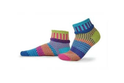 Solmate Socks L Ankle Bluebell