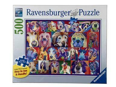 16794 Hello Doggie 500pc Puzzle