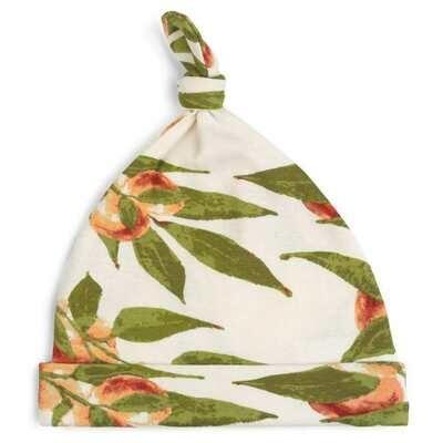 Milkbarn Peaches 6-12mo Knotted Hat