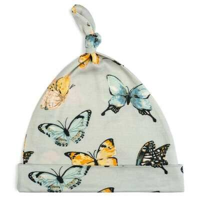 Milkbarn Butterfly 6-12mo Knotted Hat