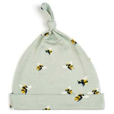 Milkbarn Bumblebee 6-12mo Knotted Hat